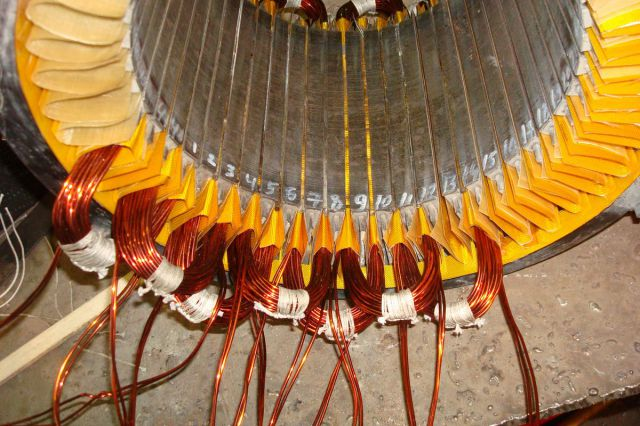 Перемотка генераторов электростанций своими руками 9